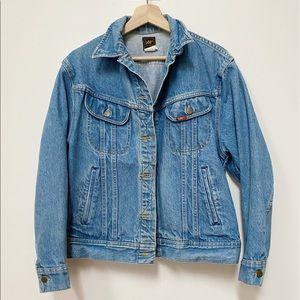 Vintage 1980's Lee Rider Denim Jacket